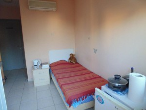 001 Single en-suite room